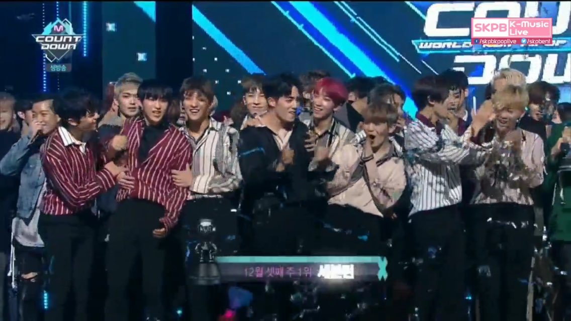 "Watch: SEVENTEEN Achieves 1st Win For ""BOOMBOOM"" On ""M!Countdown""; Performances By B1A4, UP10TION, And More"