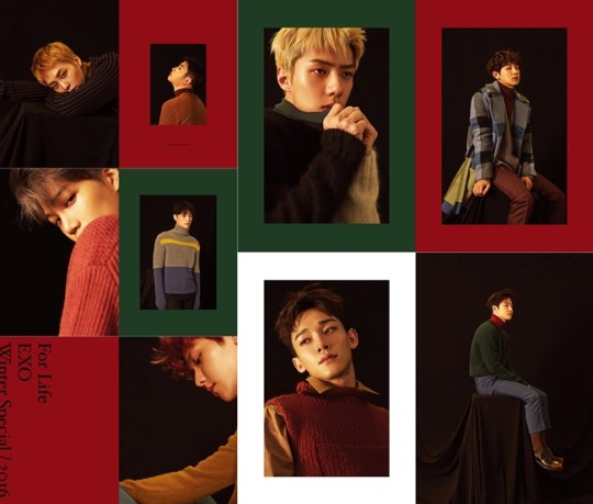 Exo Christmas Album Cover.Sm Reveals Why Exo Releases A Winter Album Every Year Soompi