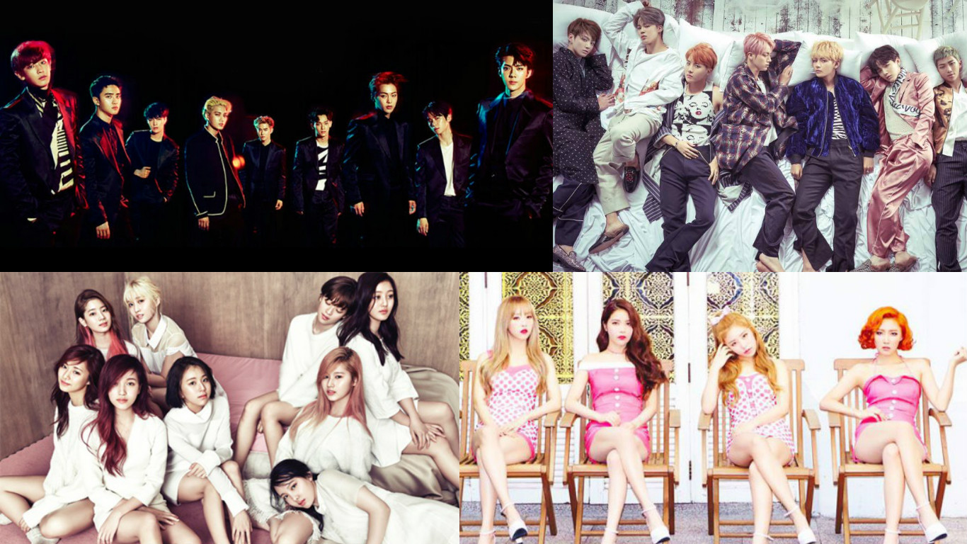 EXO, BTS, TWICE, MAMAMOO, And More Announced In First Lineup Of 2016 KBS Gayo Daejun