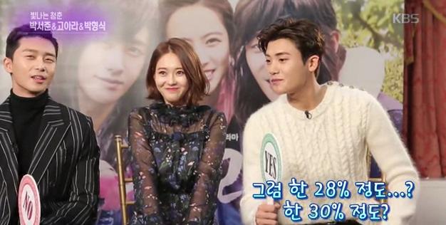 Park Seo Joon Go Ara Park Hyung Sik 1