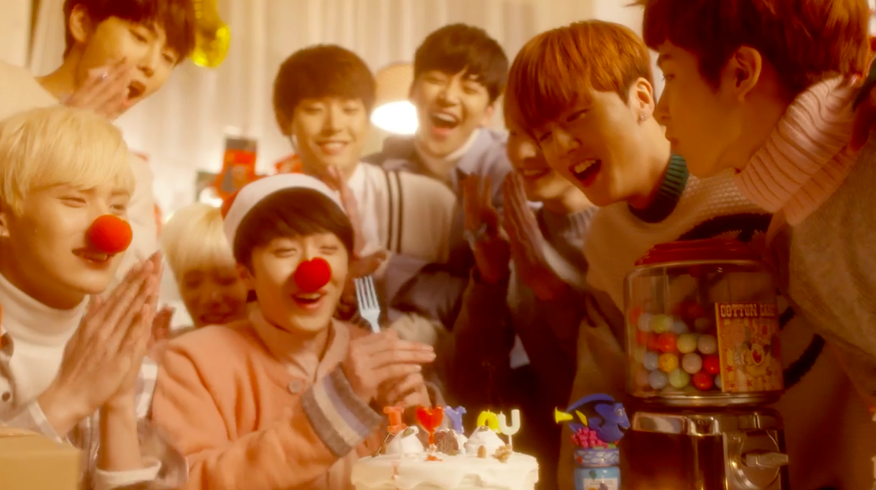 """Watch: SF9 Celebrates The Holiday Season In Teaser Video For """"So Beautiful"""" MV"""