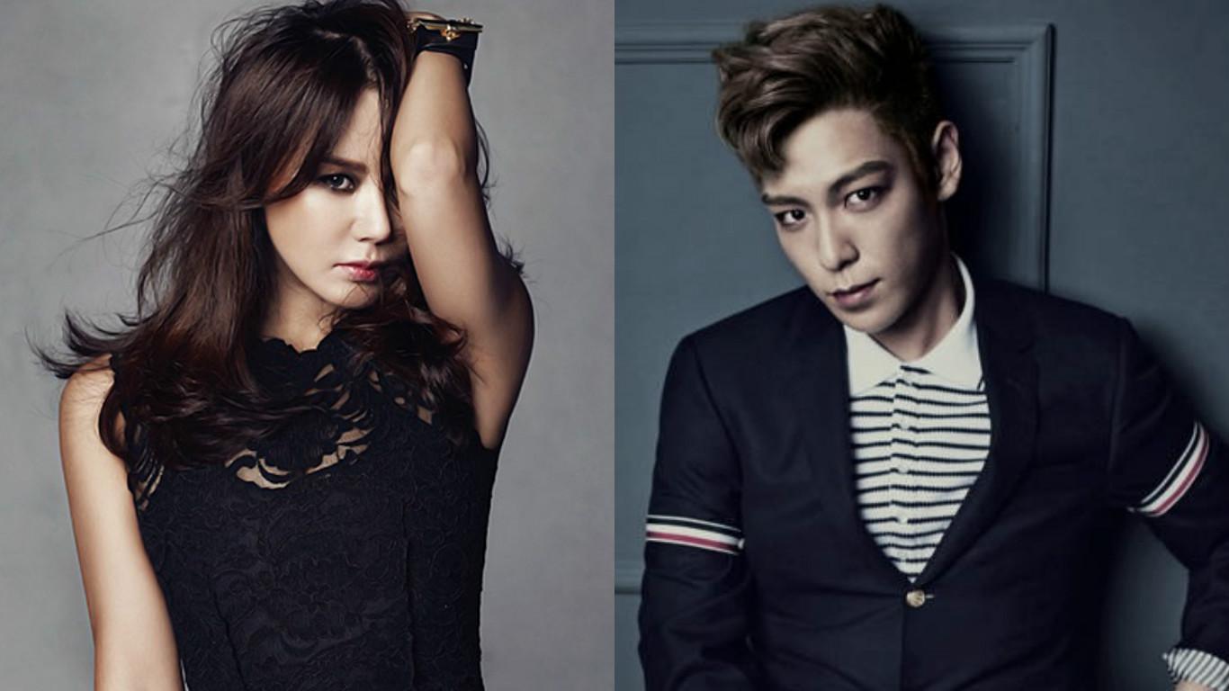 Uhm Jung Hwa And BIGBANG's T.O.P To Reunite At 2016 SBS Gayo Daejun