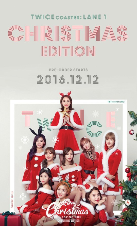TWICE's Christmas Edition Of Mini Album Soars High In Number Of Pre-Orders