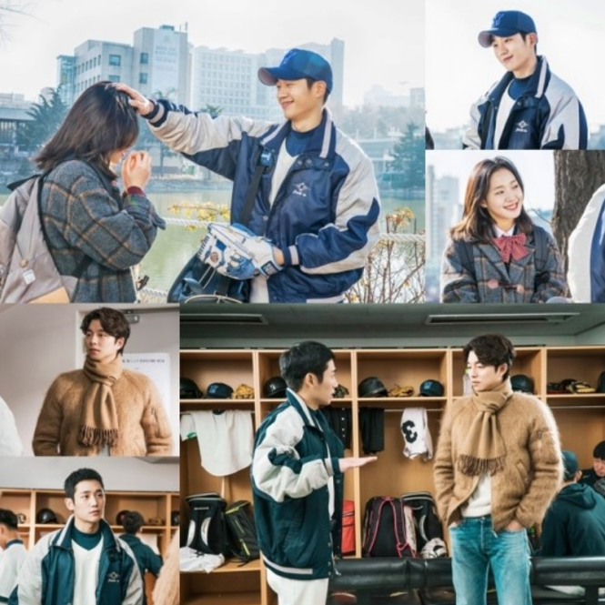 "Gong Yoo Gets Jealous Of Kim Go Eun's First Love In Latest ""Goblin"" Stills"