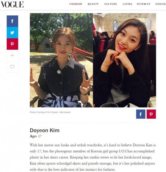 I.O.I Kim Doyeon