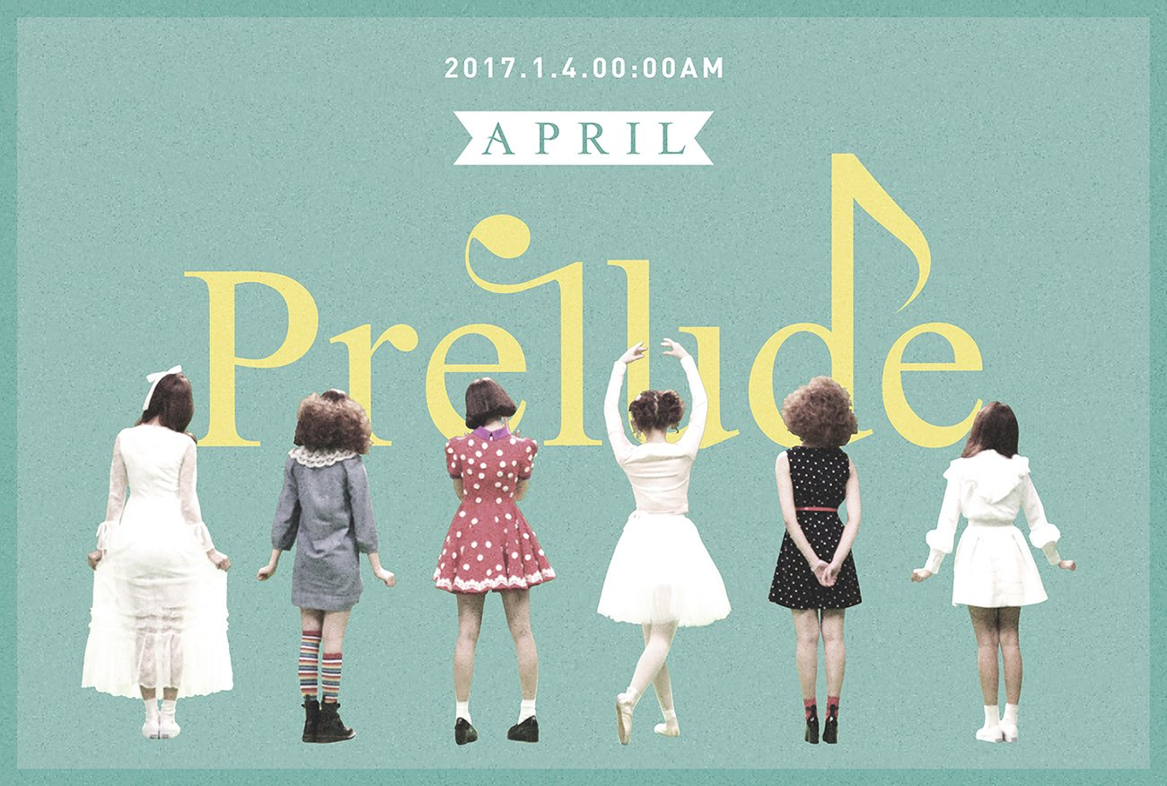 April Announces Comeback Plans With Cute Teaser Image