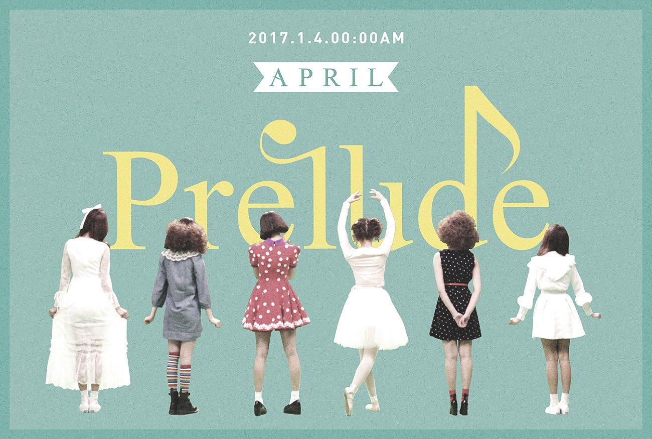 April Announces Comeback Plans With Cute Teaser Image