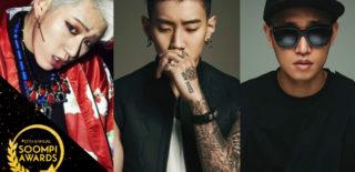 Soompi Awards best hip hop and r&b artists