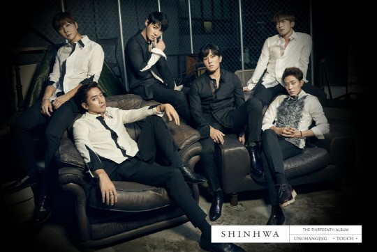 Shinhwa Looks Suave In First Concept Photo For Upcoming Album