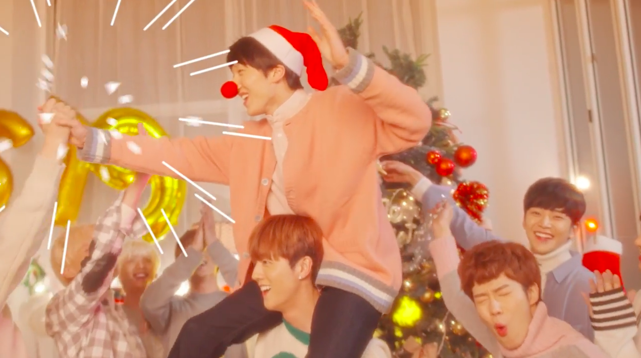 """Watch: SF9 Spreads Holiday Cheer In """"So Beautiful"""" MV"""