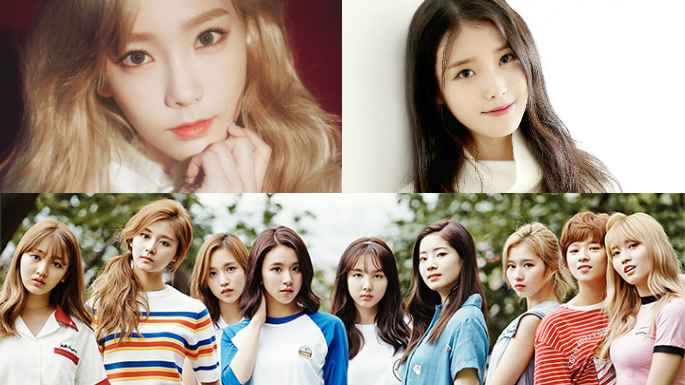 Koreans Choose Top 10 Artists And Top 20 Idols Of 2016