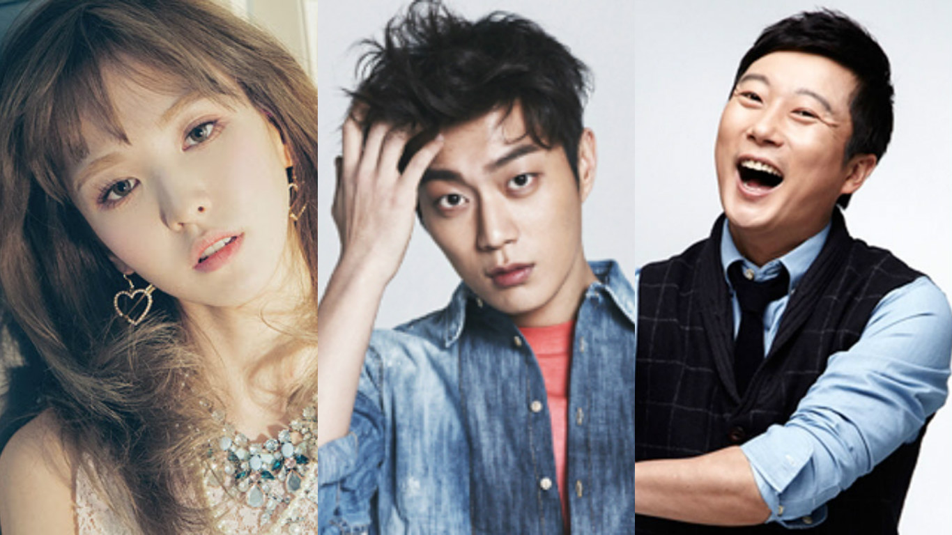Red Velvet's Wendy, BEAST's Yoon Doo Joon, and Lee Soo Geun Land MC Spots For New Variety Show