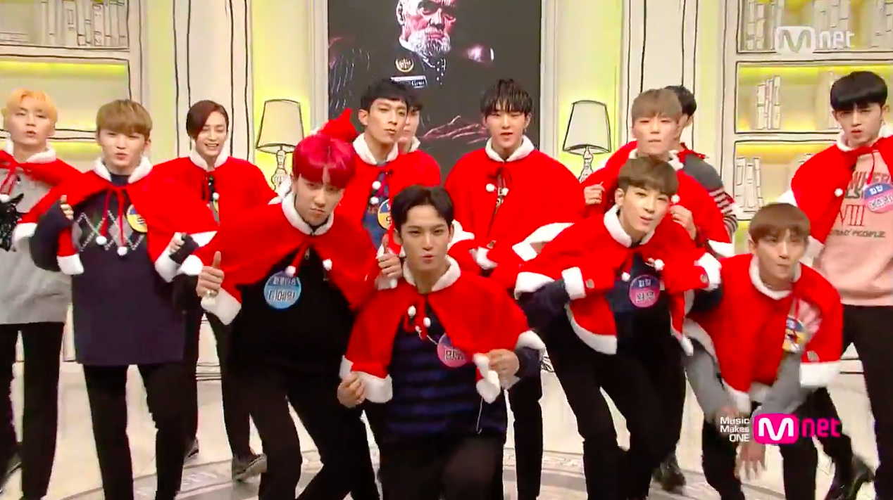"Watch: SEVENTEEN Mixes Christmas Classic With ""BOOMBOOM"" For Fun Festive Performance"