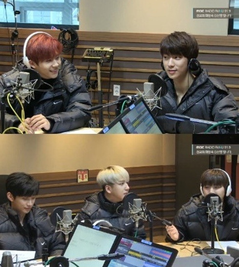 Kim Shin Young's Hope Song at Noon B1A4