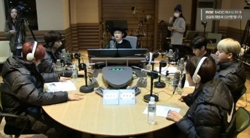 Kim Shin Young's Hope Song at Noon B1A4 2