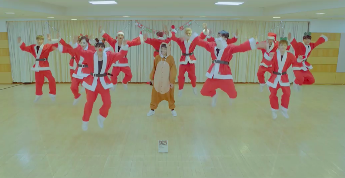 "Watch: SEVENTEEN Celebrates The Holidays With Fun ""Santa Version"" Of ""BOOMBOOM"""