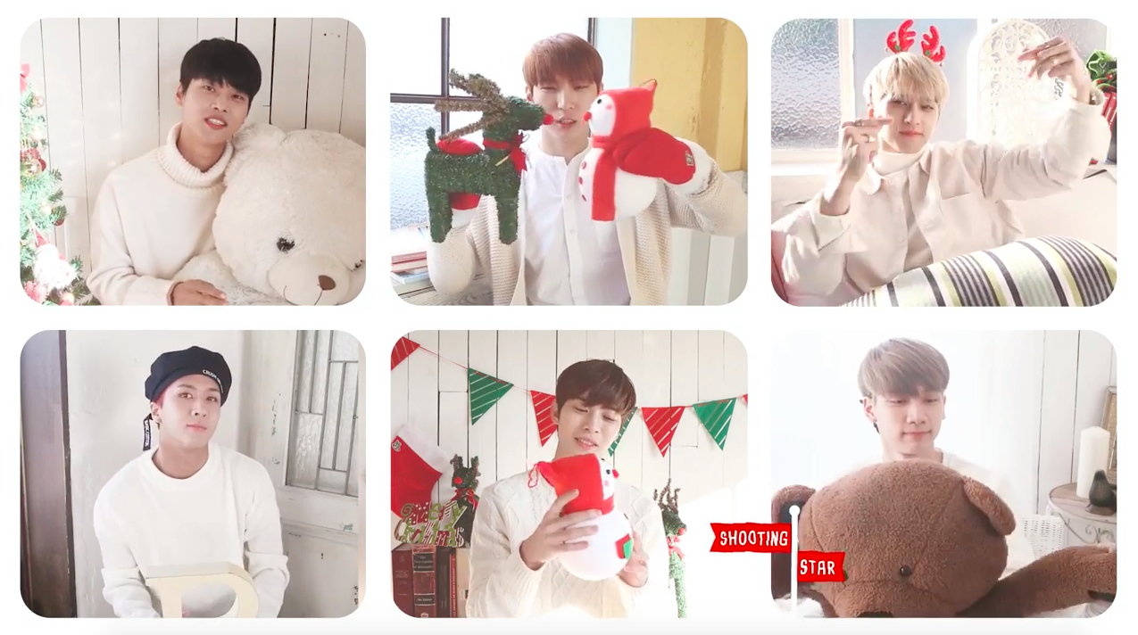 "Watch: VIXX Gifts Fans With Christmas-Themed MV For ""Shooting Star"""