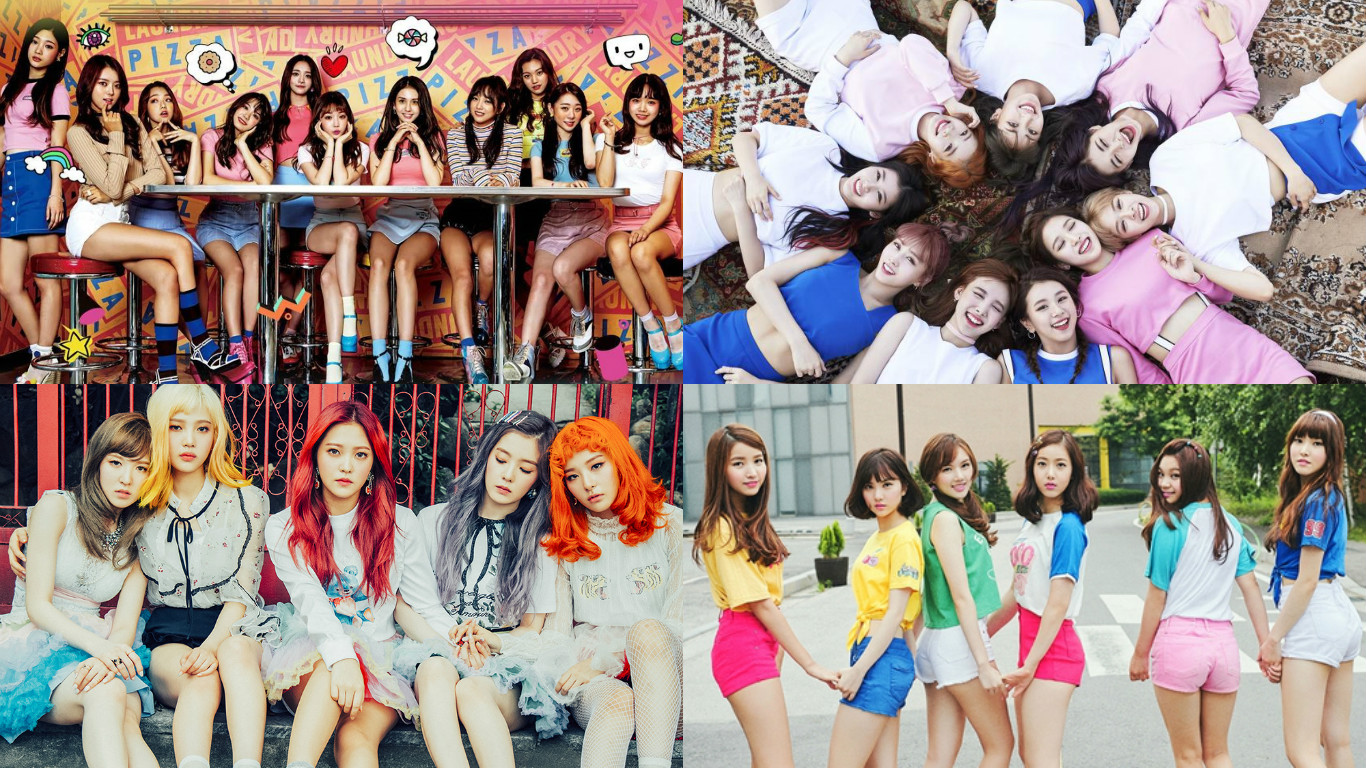 I.O.I, TWICE, Red Velvet, And GFRIEND To Perform Together At 2016 KBS Song Festival