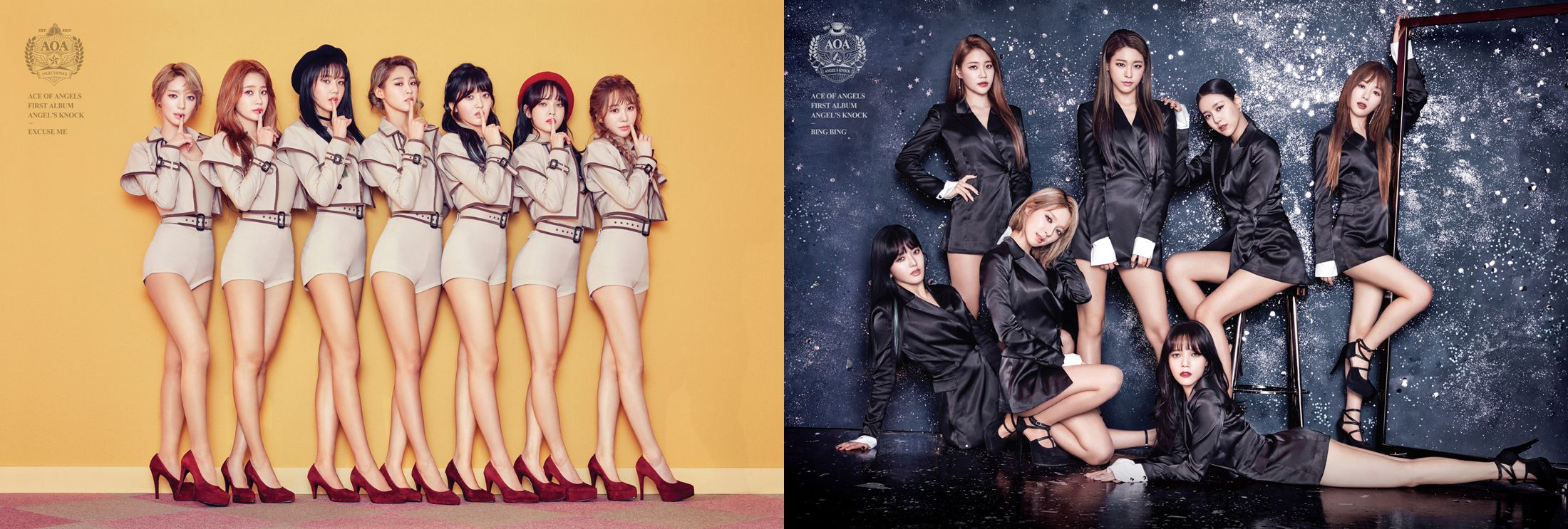 """AOA Unveils First Glimpse At Double Title Tracks """"Excuse Me"""" And """"Bing Bing"""""""