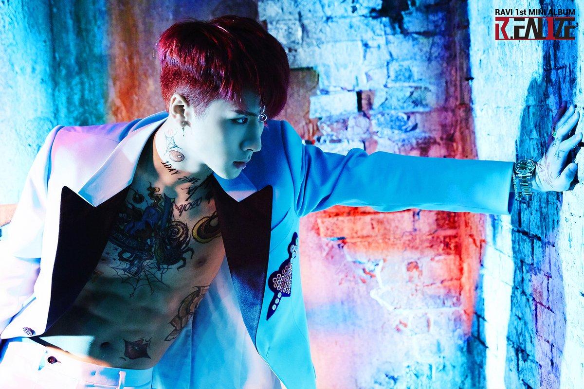 "Update: VIXX's Ravi Reveals Track List For Solo Mini Album ""R.EAL1ZE"""