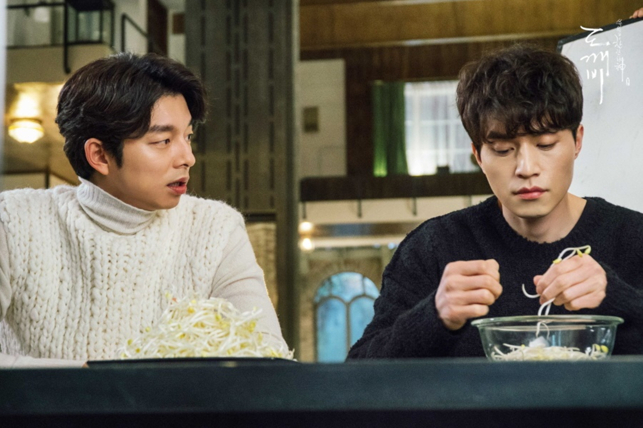 """Gong Yoo And Lee Dong Wook Were Destined For Bromance Even Before """"Goblin"""""""