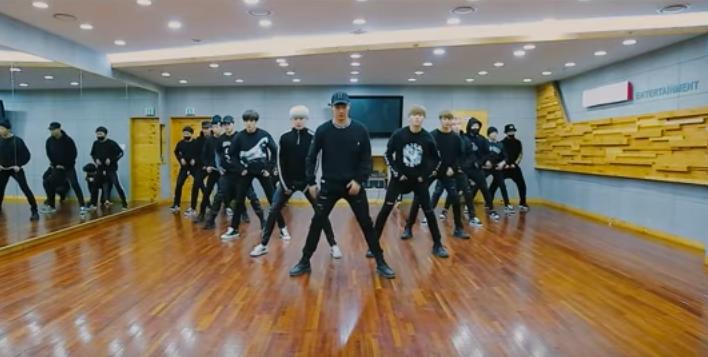 Watch: MONSTA X Drops Dance Practice Video For 2016 SBS Gayo Daejun Performance