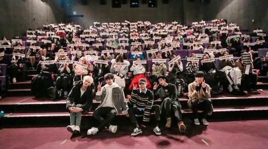 KNK Enjoys Movie Date With Fans To Celebrate 300th Day Since Debut