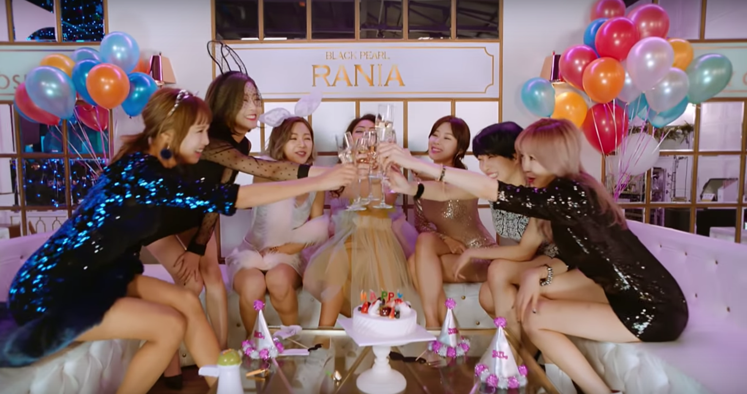 """Watch: BP RANIA Gets Ready To """"Start A Fire"""" With Revamped Group In Comeback MV"""