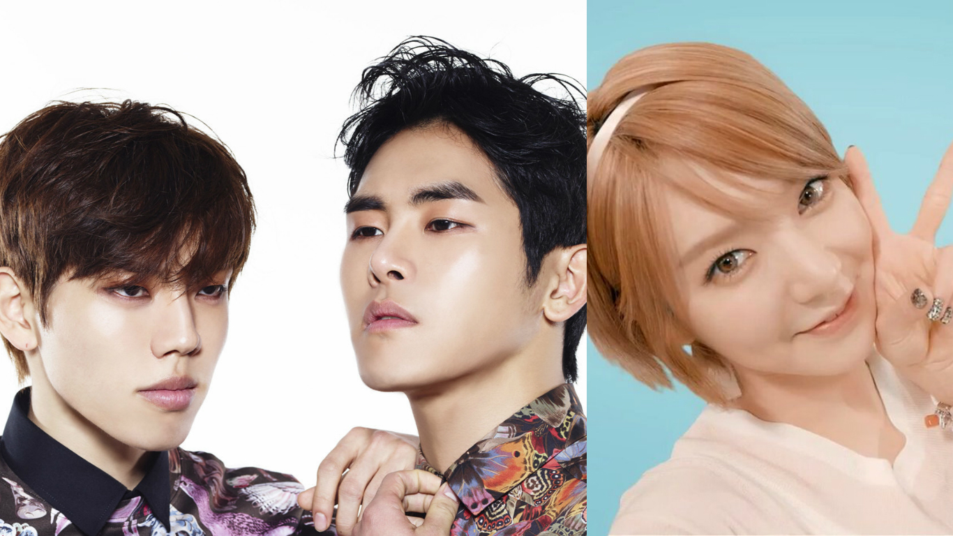 INFINITE's Hoya And Dongwoo To Collaborate With AOA's Choa For 2016 MBC Gayo Daejejun