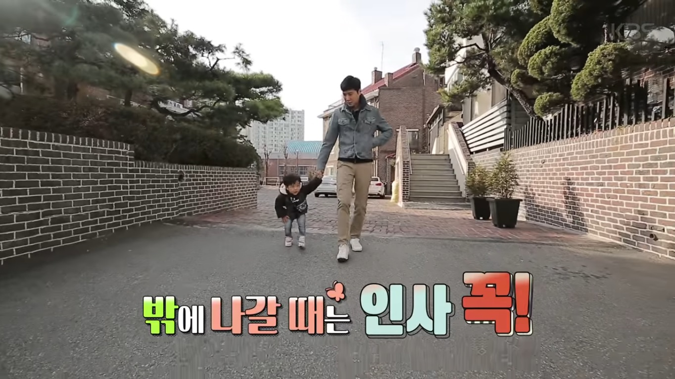 """Non-Active SECHSKIES Member Go Ji Yong's Son Steals The Show On First """"The Return Of Superman"""" Episode"""
