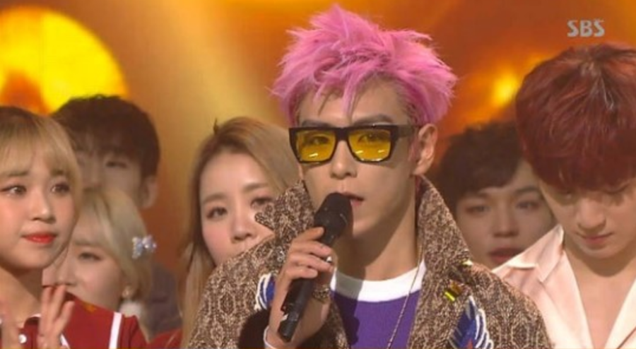 bigbang inkigayo top