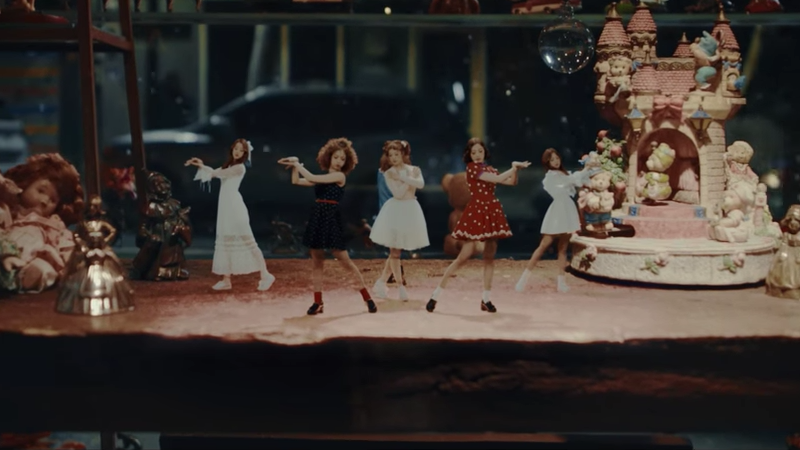 """Watch: APRIL (Literally) Transforms Into Adorable Dolls In MV Teaser For """"April Story"""""""