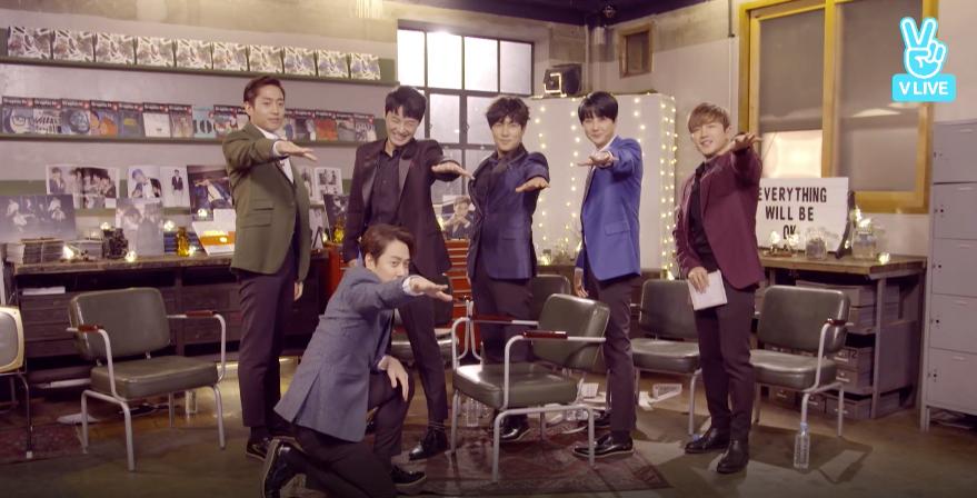 "Shinhwa Worries They May Flop The Random Play Dance On ""Weekly Idol"""