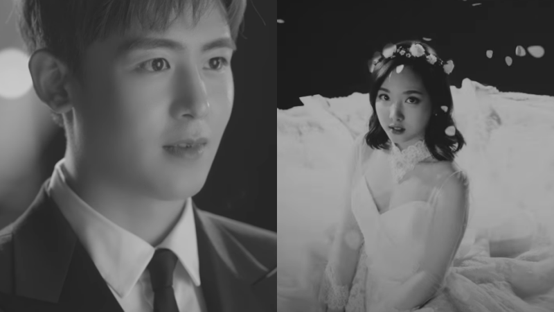 """Watch: 2PM's Nichkhun And TWICE's Nayeon Tease Jun.K's Solo Track """"Your Wedding"""""""