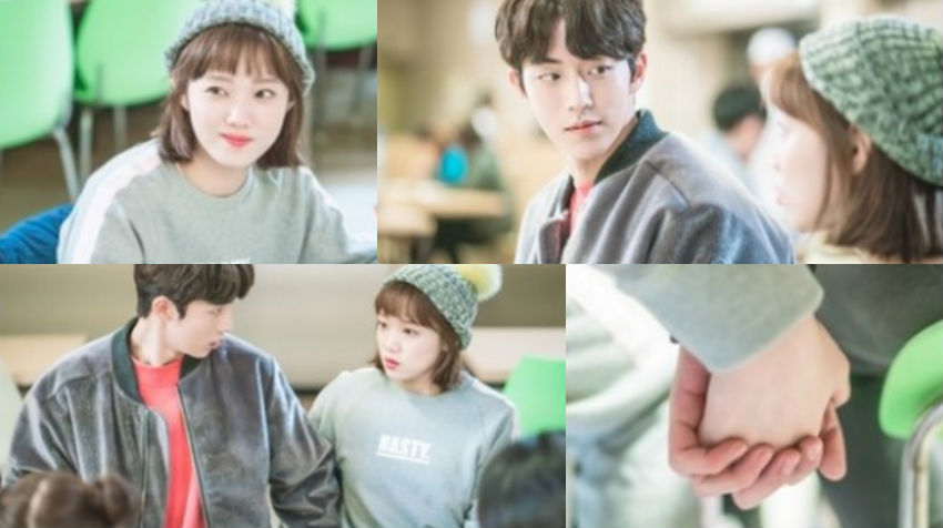 """Nam Joo Hyuk And Lee Sung Kyung Are Secretly Affectionate In """"Weightlifting Fairy Kim Bok Joo"""""""