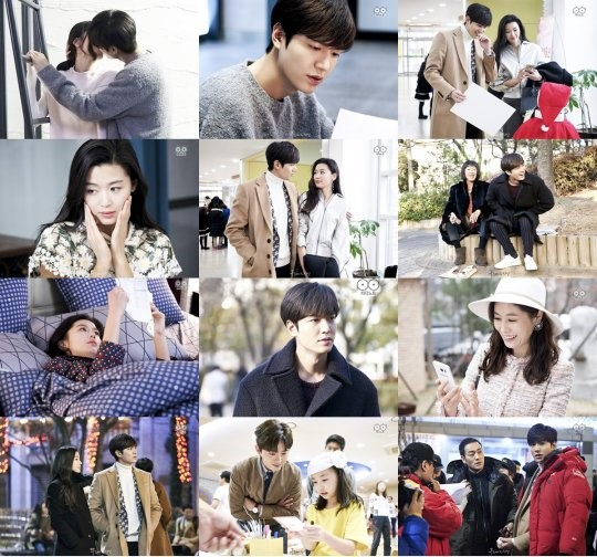 """The Legend of the Blue Sea"""" Excites Fans With Behind-The"""