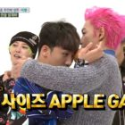 "Watch: BIGBANG's T.O.P And Seungri Hilariously Prove How Close They Are On ""Weekly Idol"""