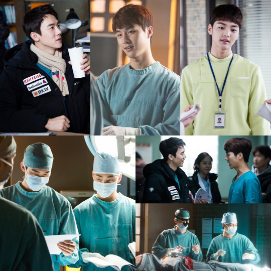 """Romantic Doctor Kim"" Gives Inside Look At Actors During Rehearsal"