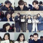 Kim Ji Suk, Yoon Kyun Sang, Chae Soo Bin, Honey Lee, And More Gather For First Script Reading Of New Drama