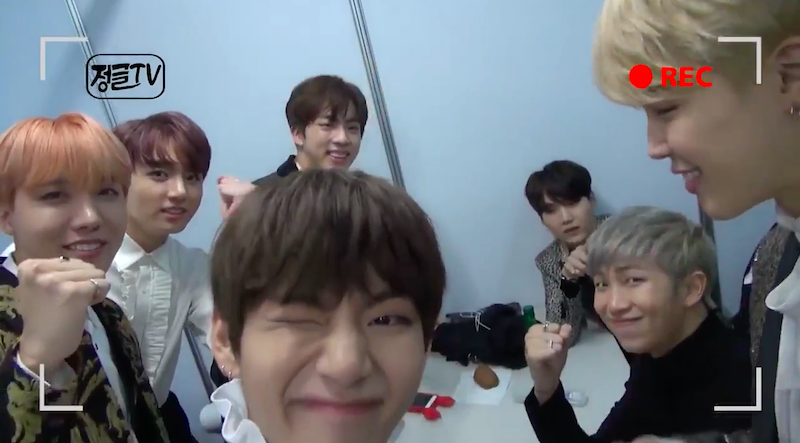 """Watch: BTS Cheers On Jin And Debates His Likelihood Of Survival In The Jungle In New """"Law Of The Jungle"""" Clip"""
