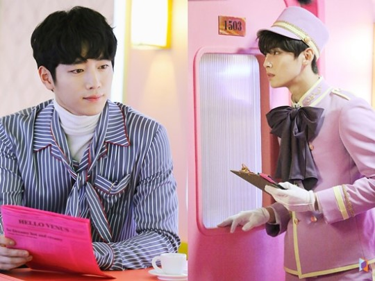 "ASTRO's Cha Eun Woo Joins Seo Kang Joon In Hello Venus's ""Mysterious"" Music Video"