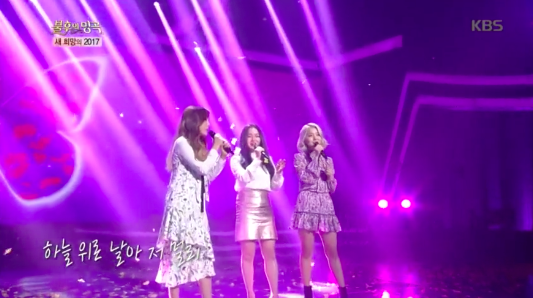 "Watch: Ladies' Code Performs An Emotional Song Of Hope On ""Immortal Songs"""