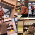"Watch: BTS's J-Hope And Jin Showcase Their Variety Skills By Performing Hilarious ""Cooking Dance"""