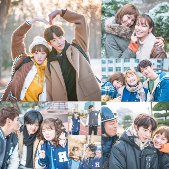 """Weightlifting Fairy Kim Bok Joo"" Cast Show Their Camaraderie In Behind-The-Scenes Cuts Ahead Of Last Episode"