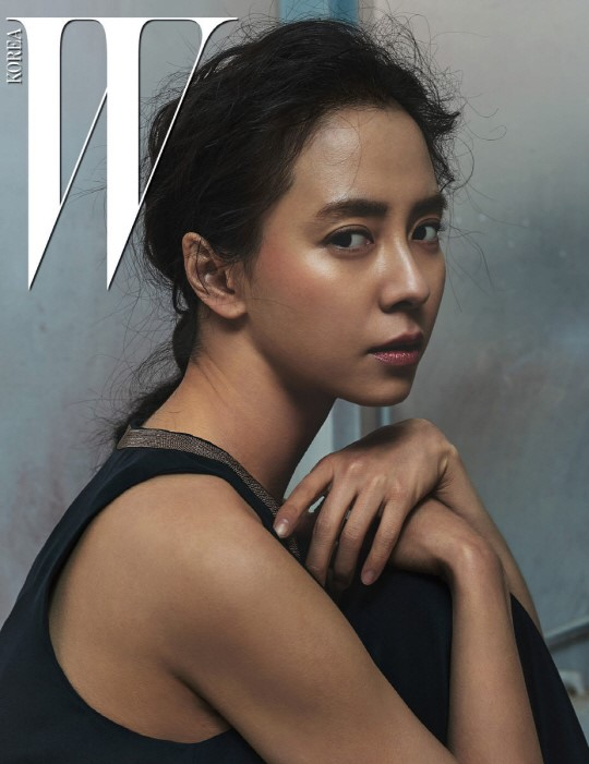 Song Ji Hyo Is A Stunning Natural Beauty In W Magazine B-Cuts