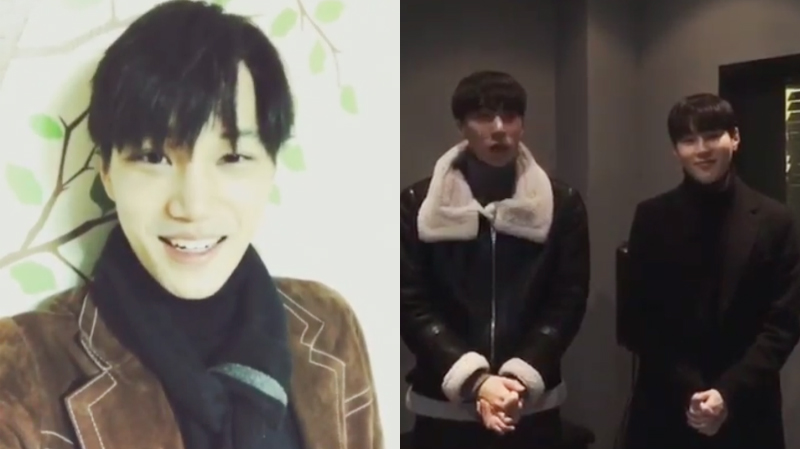 Watch: EXO's Kai + HOTSHOT's Timoteo And Sungwoon Show Support For Best Friend Ravi's First Solo Album