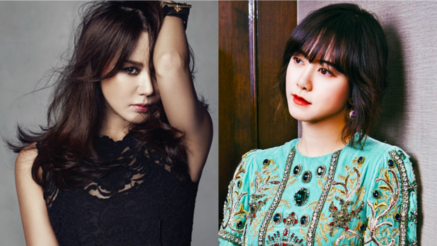 Uhm Jung Hwa And Ku Hye Sun Starring As Singers In New MBC Weekend Drama
