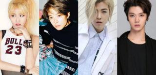 TWICE Momo f(x) Amber Kangnam NCT Ten