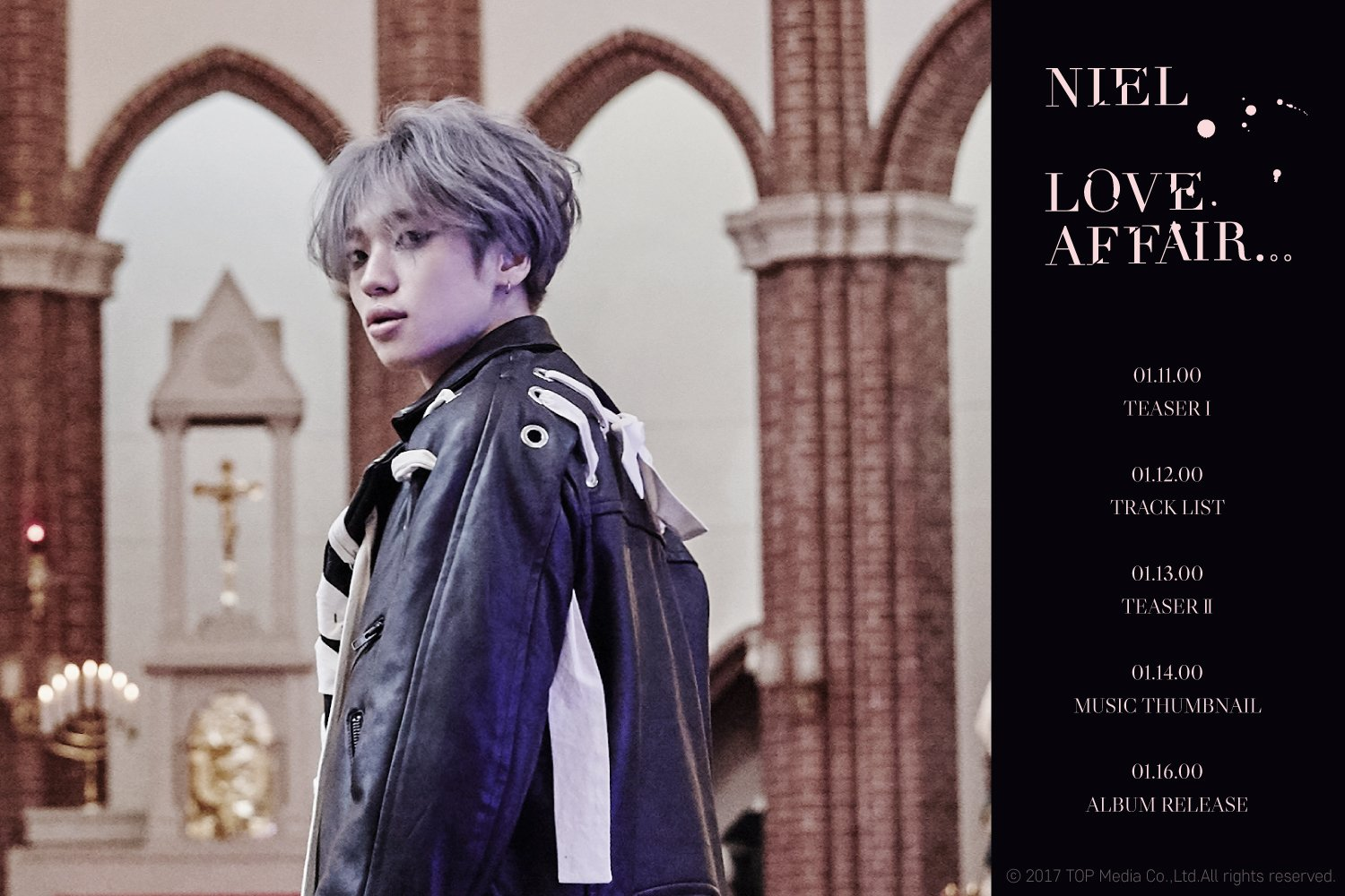 "Teen Top's Niel Shares Schedule For Solo Comeback With ""Love Affair…"""