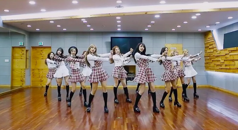 """Watch: Cosmic Girls Shares Dance Practice Video For """"I Wish"""""""